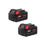 Milwaukee Battery 2PK 5AMP Lithium
