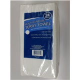 White Terry Cleaning Cloth