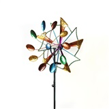 "72"" Solar Crackle Glass Stake"