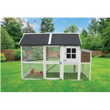 "Deluxe Superior Hen House 40""L x 84""W x 57""H"