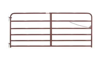 Six Bar Tube Gate 10'