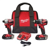 2-Tool Combo Kit, Drill Driver/Impact Driver