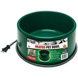 Six Quart Heated Pet Bowl