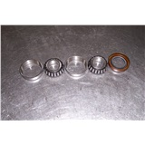BEARING KIT W/CUPS CONES SEALS