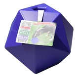TOY HORSE TREAT BALL PURPLE