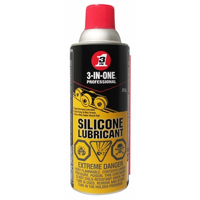 3-in-1 Silicone Spray Lubricant 311g