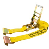 "Erickson Ratchet Strap with Flat Hook 3"" x 30'"