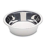 Petmate Stainless Steel Bowl 2 Quarts