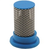 STRAINER POLY 4PK 50 MESH BLUE