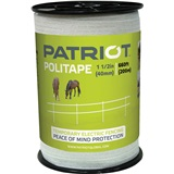 "PATRIOT POLITAPE - 660FT - 1 1/2IN 6 STRAND WH 1 1/2"" x 660 ft. (200 m) length."