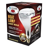 Canarm 250W Clear Heat Lamp 250W