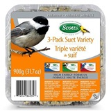 Scott 3 pack hi energy suet cakes