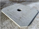 EasyPad Waterer Foundation 8' x 6.6' x 4""