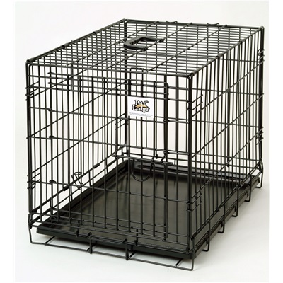 "KENNEL CRATE 24"" DOUBLE DOOR"