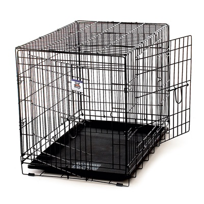 "KENNEL CRATE 30"" DOUBLE DOOR"