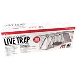 "Double-Door Entry Live Animal Trap 36.5"" (L) x 10.25"" (W) x 12.75"" (H)"