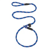 LEASH NYLON BL/OR 1/2X4