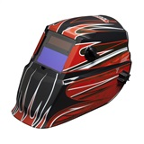 Lincoln Electric Fierce Red Autodarkening Welding Helmet