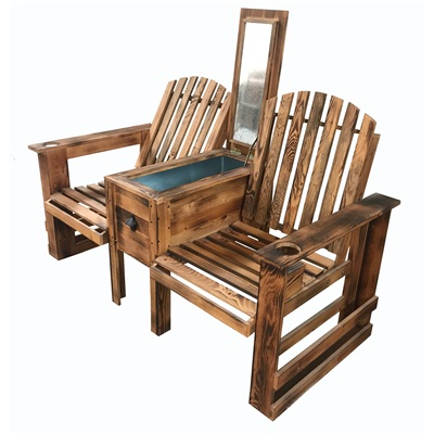 Bench Wooden with cooler