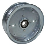 Flat Type Idler Pulley 4""