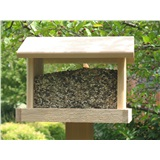 "12"" HOPPER CEDAR BIRD FEEDER 14"" L x 11"" W x 11"" H"