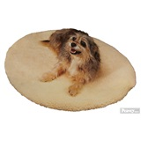 "Heated Pet Bed Round 23"" D"