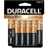BATTERY DUR AA 16PK .