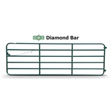 GATE 16FT 6 BAR DIAMOND
