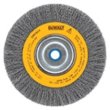 "BRUSH WIRE 6"" CRIMPED 5/8-1/2"""