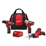 M12™ 12V Cordless 3-Piece Combo Kit