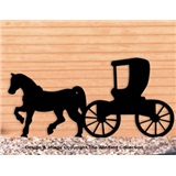 PATTERN HORSE & BUGGY SHADOWN