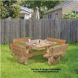 PATTERN SQR PICNIC TABLE 50""