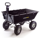 10 CU. FT. Poly Cart
