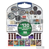 Dremel 160 Piece Rotary Accessory Kit