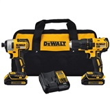 Dewalt Brushless Drill and Impact Kit