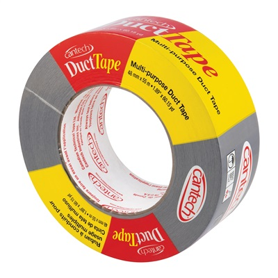 55M SILVER CLOTH DUCT TAPE