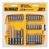 37 PIECE DEWALT SCREWDRIVER BIT SET