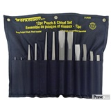 12 Piece Heavy Duty Punch & Chisel Set