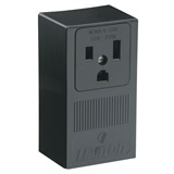 SURFACE RECEPTACLE 50A-250V, IN BLACK