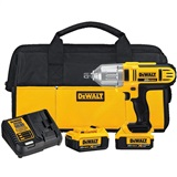 DeWalt 20 Volt Impact Wrench Kit 1/2""