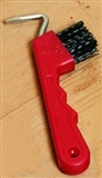 PICK HOOF PICK/BRUSHPLASTIC HA
