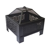 Square Metal Firepit