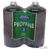 2 Pack Propane Fuel Tanks 16.4 oz.