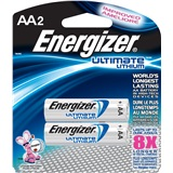 ENERGIZER LITHIUM AA BATTERIES 2 PACK